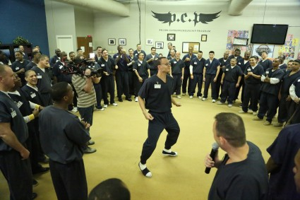 Texas prison dance off.